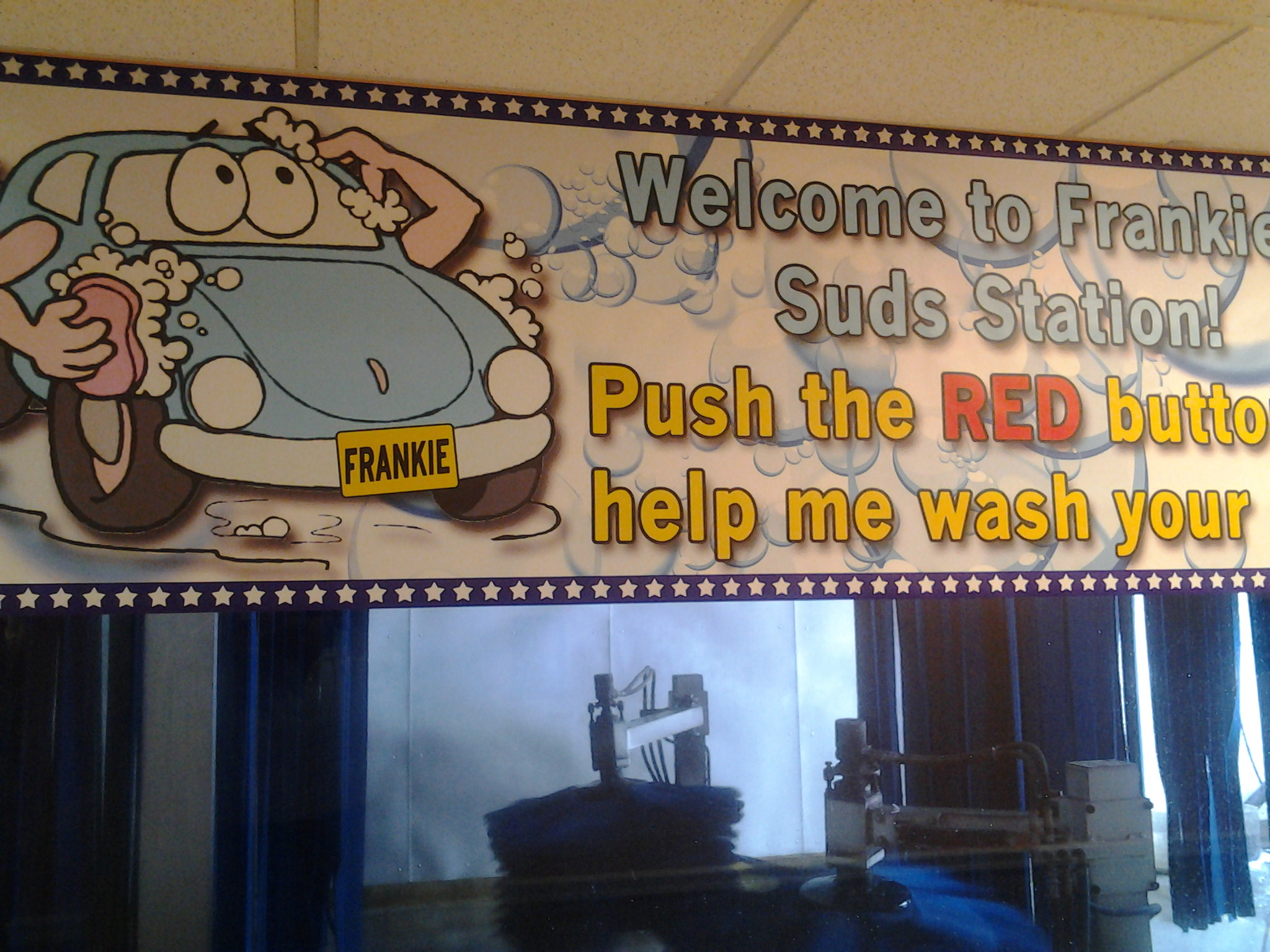 Check Out Frankie's Suds Station Its Lots Of Fun