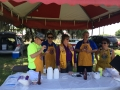 Lions Serving It Up At Tomlin Pride