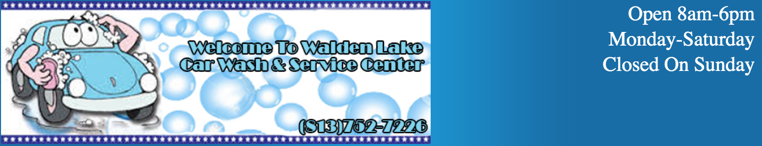 Walden Lake Car Wash